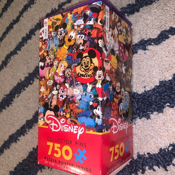 Other - CUTE DISNEY PINS 750 PC PUZZLE